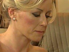 Blonde Milf Lubricates Lover's Cock 18 43