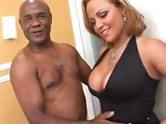 Curvy Blonde Invites Bbc In Her Pussy And Anus