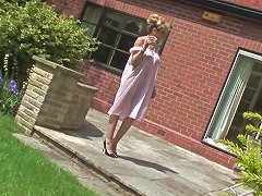 The Voyeur And The Naked Housewife Porn Video 891